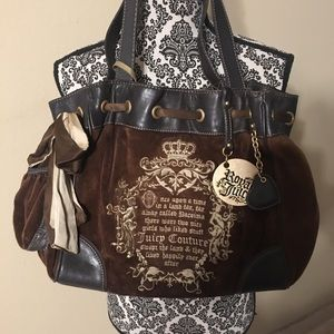 Beautiful Juicy Couture Leather Bag